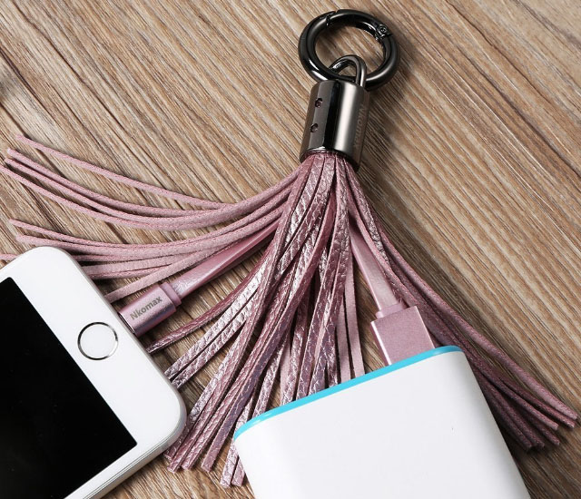 Nkomax Keychain Lightning Cable