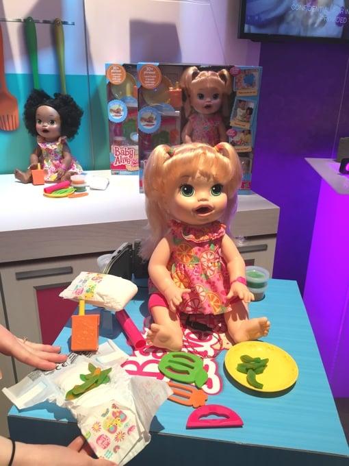 Hasbro S New Snackin Sara Doll Demands Food Poops Food