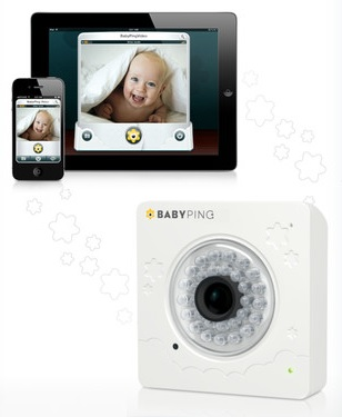 review of the y cam babyping baby monitor techlicious. Black Bedroom Furniture Sets. Home Design Ideas