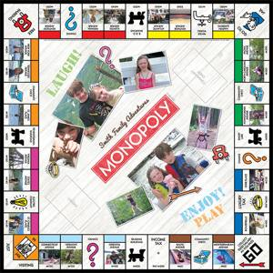 Cafepress custom Monopoly set