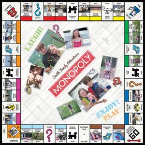 Cafepress custom Monopoly set