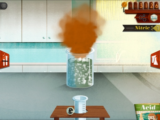 ChemCrafter iPad chemistry app