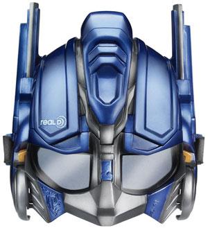 Cine-Mask 3D Transformer Mask Optimus Prime