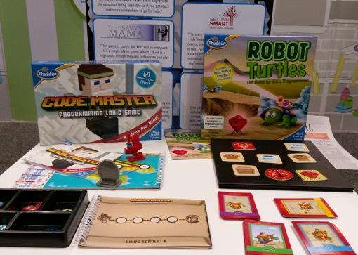 Think Fun Code Master & Robot Turtles