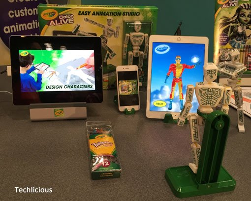 Techlicious Gift Guide: Crayola Color Alive Easy Animation Studio, Ages 6+