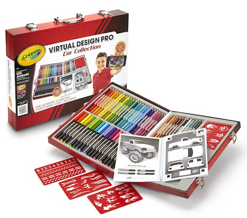 Crayola Virtual Design Pro: Car and Fashion Sets