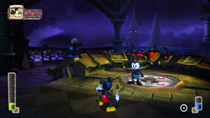 Disney Epic Mickey with Oswald