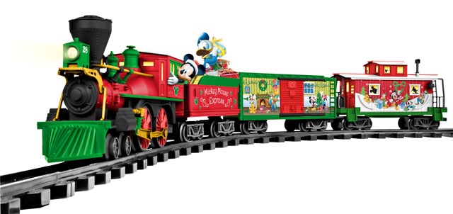 Techlicious Gift Guide: Lionel Mickey Mouse Disney Ready to Play Set