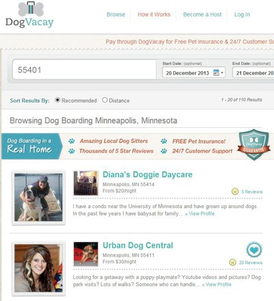 pet sitter profile examples