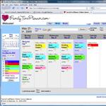 Family Time online calendar