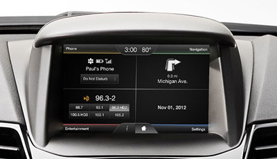 """SYNC with MyFord Touch"" infotainment system"