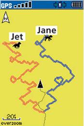 Garmin Astro map