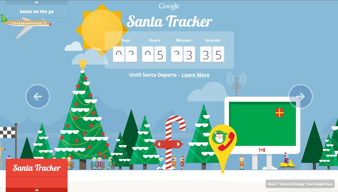 Track Santa S Every Move Techlicious