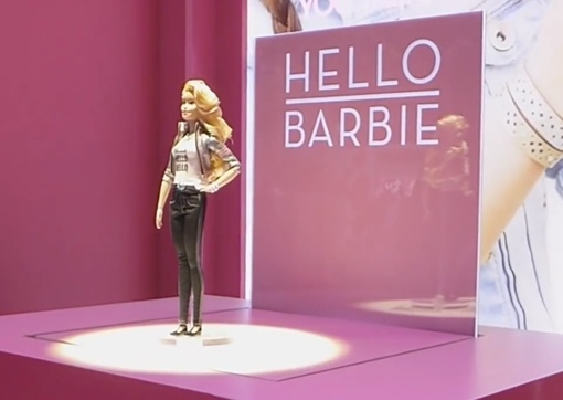 Hello Barbie talking doll