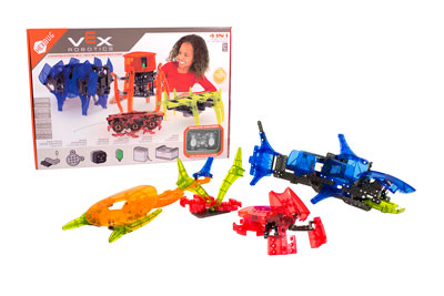 HEXBUG VEX Robotics 4-in-one Kit