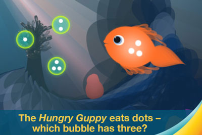 Motion Math; Hungry Guppy