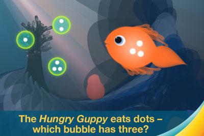 Motion Math; Hungry Guppy