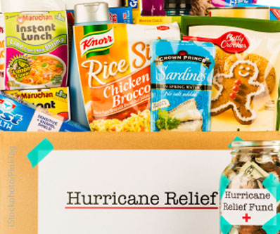 Hurricane relief box