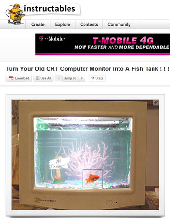 Instructables.com fish tank instructions