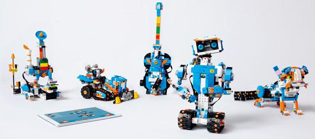 LEGO BOOST models
