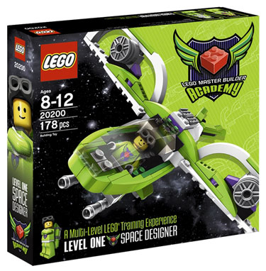 Lego Master Builder Acamdemy Space Designer