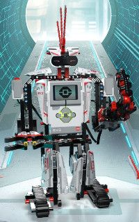 lego mindstorm robot building instructions