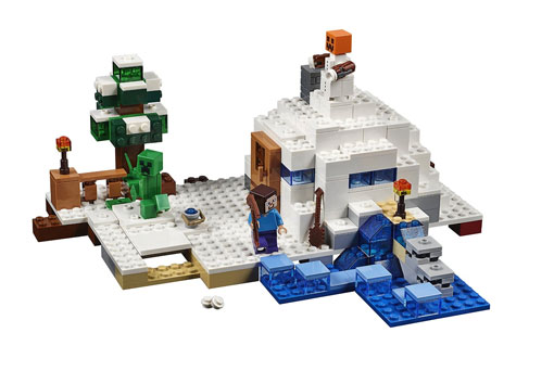 Techlicious Gift Guide: Lego Minecraft The Snow Hideout, ages 8+