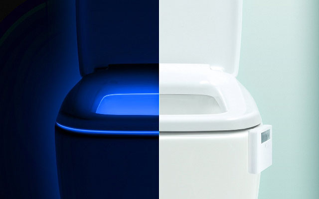 LumiLux Multicolor, Motion-Sensing Toilet Bowl Light