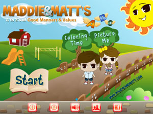 Maddie and Matt's A to Z's of Good Manners & Values