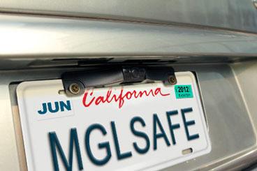 Magellan camera mounted