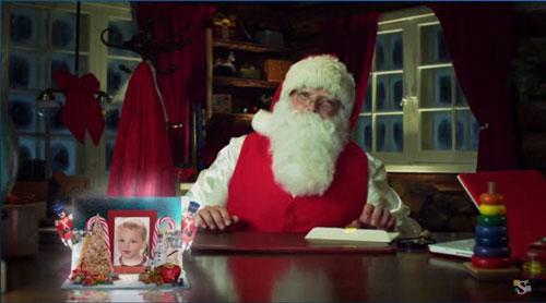 Magic Santa video