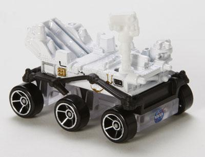 Hot Wheels Curiosity Rover