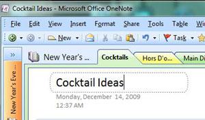 Microsoft OneNoteTabs