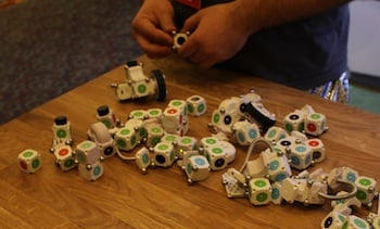 Modular Robotics Moss Construction System
