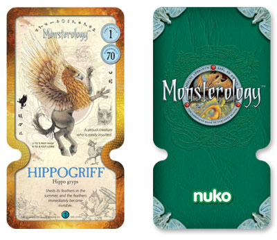 Monsterology cards