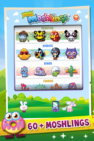 Moshi Monsters: Moshlings