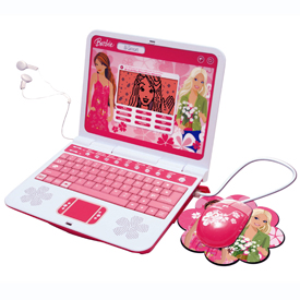 Oregon Scientific Barbie B-Smart Learning Laptop