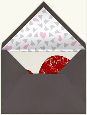 Paperless Post Valentine Card
