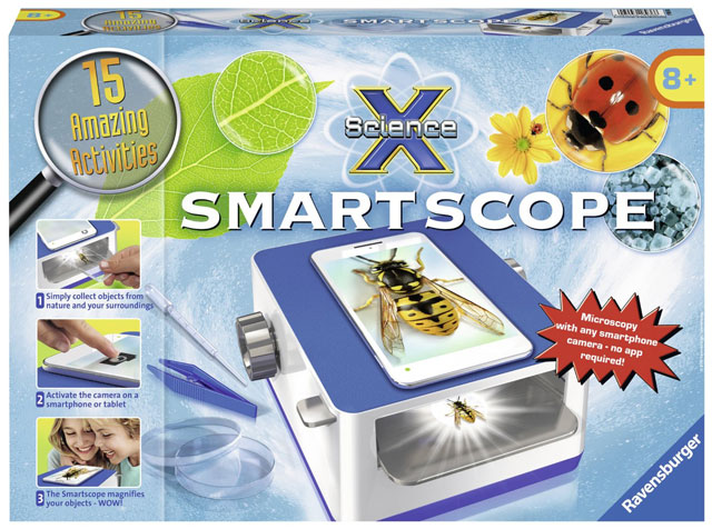Techlicious Gift Guide: Ravensburger Science X Smartscope Science Kit
