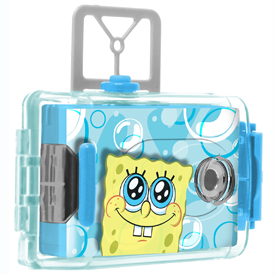 Sakar SpongeBob Squarepants Underwater Camera