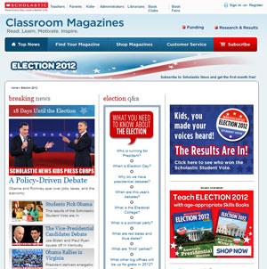 Scholastic: Election 2012