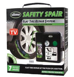 Slime Safety Spair tire repair and inflator kit