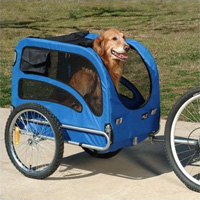 Solvit HoundAbout Bicycle Pet Trailer