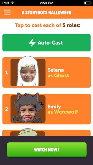 StoryBots app