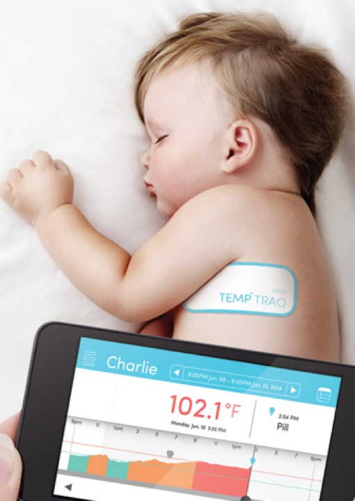 TempTraq Bluetooth thermometer