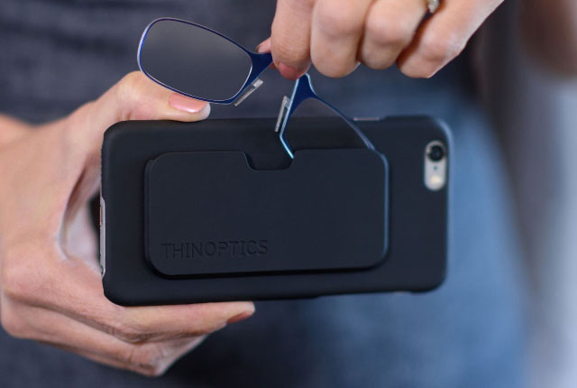 ThinOptics Reading Glasses and iPhone Case