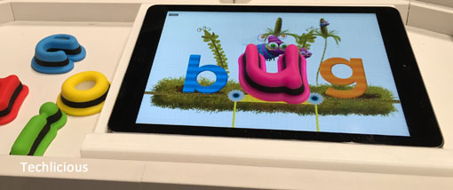 Techlicious Gift Guide: Tiggly Words, ages 4-8