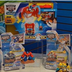 Transformers Beam Bots