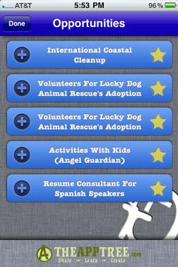 Volunteer Finder