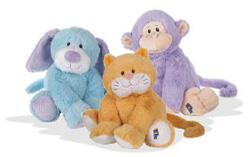 Webkinz Jr. plush toys
